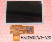 5.0 INCH HSD050IDW1-A20 LCD display with touch glass for GPS